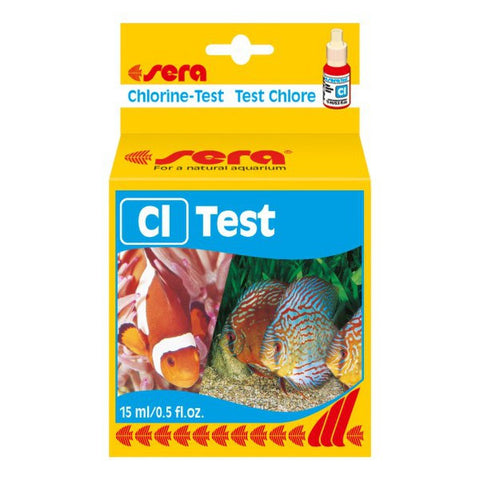 sera test de Cl (test de cloro) 15 ml