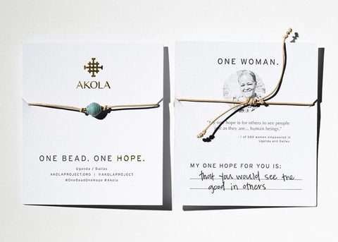One Bead. One Hope. One Woman.
