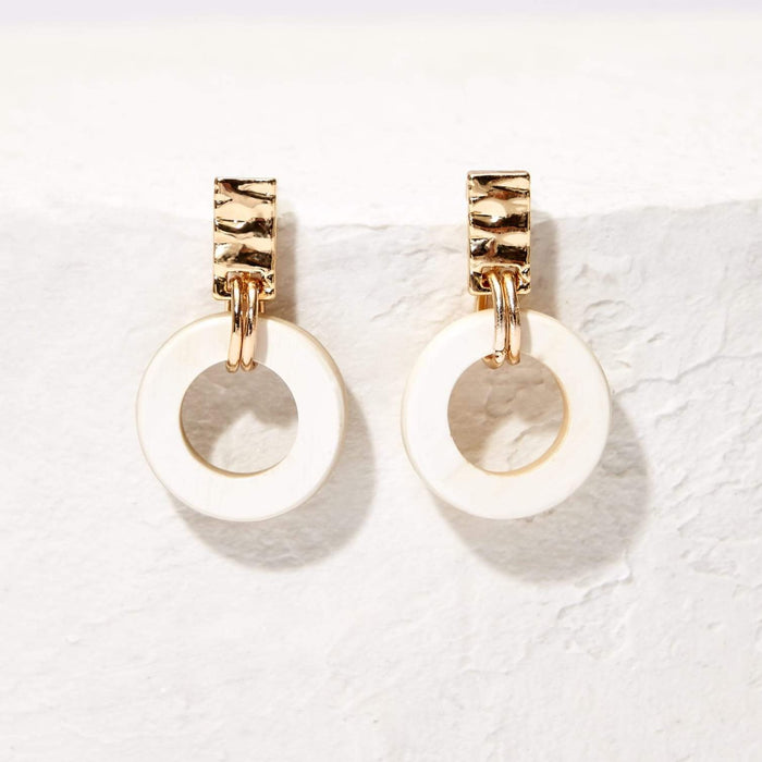 Fern Earring in Blonde - Akola