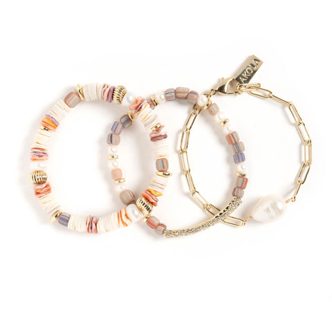Eshe Set of 3 Bracelets