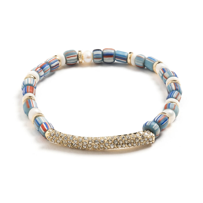 Ezra Beaded Stretch Bracelet