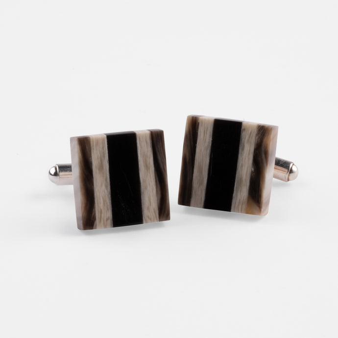 Layered Horn Cufflinks