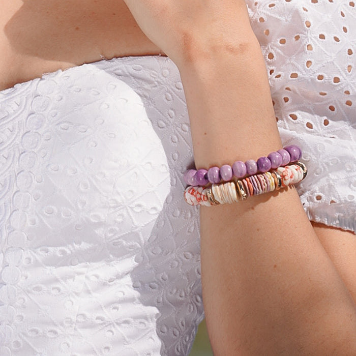 Elora Beaded Stretch Bracelet