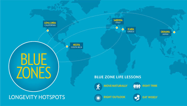 What is a Blue Zone? Costa Rica is located in a Blue Zone