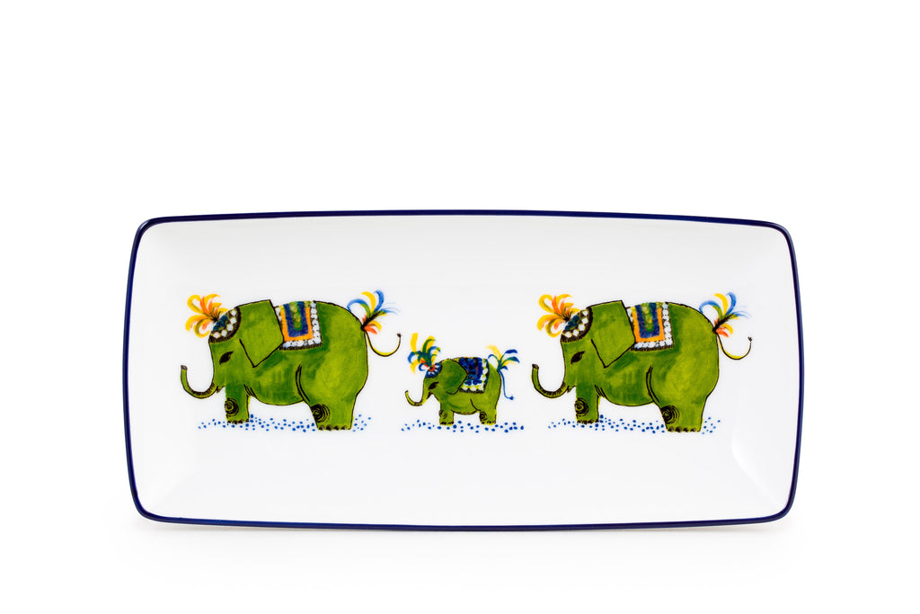 "Elefant 7.5"" Lemon & Lime Dish"