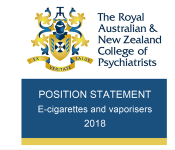 E-cigarettes and vaporisers | Australian and New Zealand psychiatrists endorse vaping