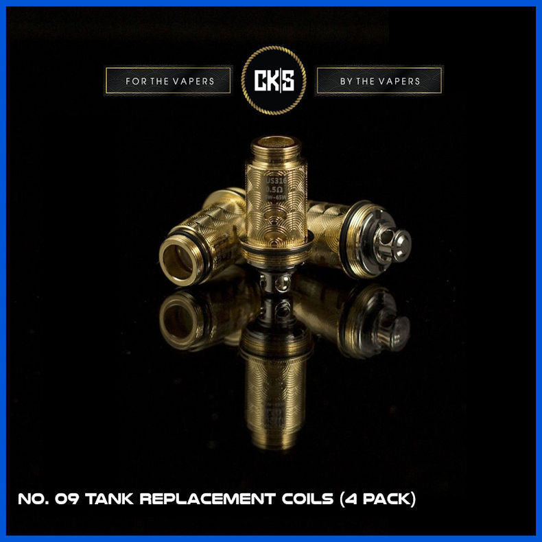 No. 09 Tank Replacement Coils  | <br> by CK|S