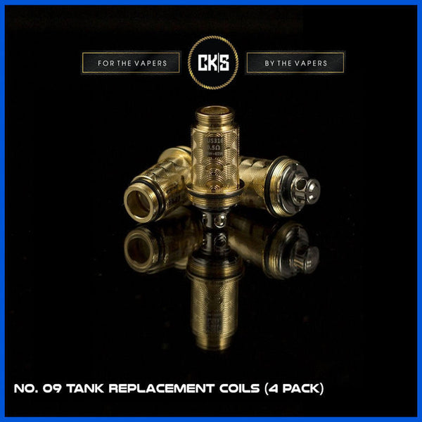 No. 09 Tank Replacement Coils  | <br> by CK|S - Wholesale Vape Supply | E-Liquids | Mods | Electronic Cigarettes Drip Cave®