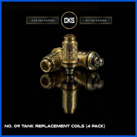 No. 09 Tank Replacement Coils  | <br> by CK|S | Clearomiser | VapeCave | Australia