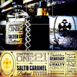 Salted Caramel |<br>  by District One 21 | e-liquid | VapeCave | Australia