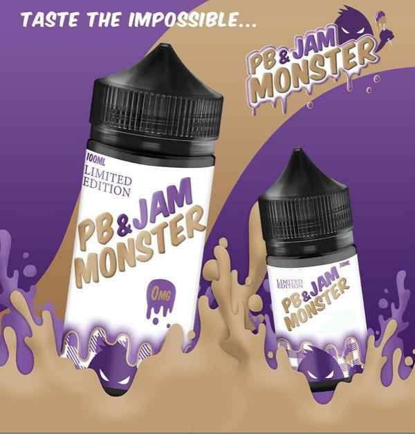 PB + Jam  | <br> by Jam Monster - Wholesale Vape Supply | E-Liquids | Mods | Electronic Cigarettes Drip Cave®