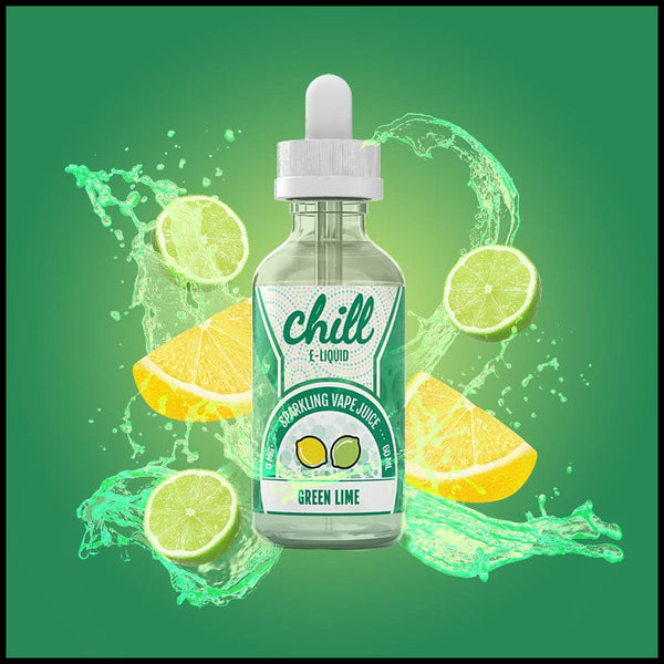 Green Lime |<br> by Chill E-Liquid - Wholesale Vape Supply | E-Liquids | Mods | Electronic Cigarettes Drip Cave®