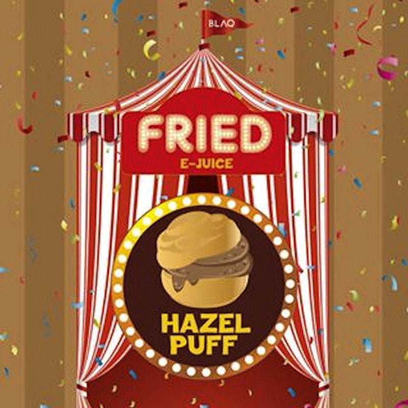 Hazel Puff | by FRIED<br>E-Juice by BLAQ Vapor