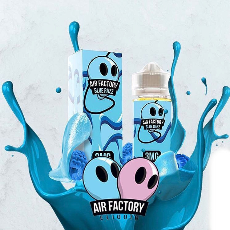 Blue Razz Eliquid | <br> by AIR FACTORY | eliquid | VapeCave | Australia