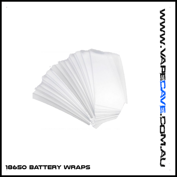 18650 | <br> Battery wraps - Vapecave - Vape Shop Melbourne Australia's Premier Shopping Destination Vape Cave