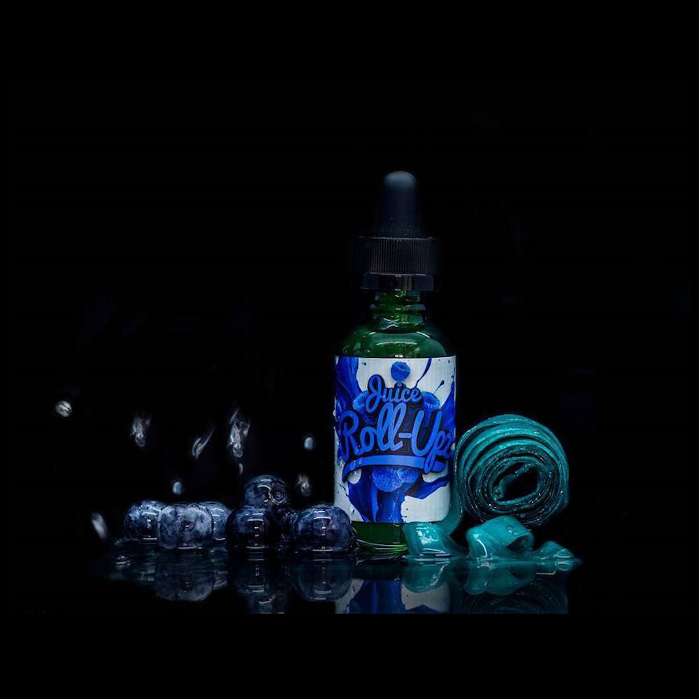 Blue Raspberry  by | <br> Juice Roll Upz E-Liquid