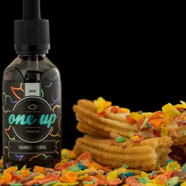 Churros + Cereal |<br> by OneUp Vapors - Wholesale Vape Supply | E-Liquids | Mods | Electronic Cigarettes Drip Cave®