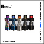 Crown V3 Tank | <br> by Uwell | Clearomiser | VapeCave | Australia
