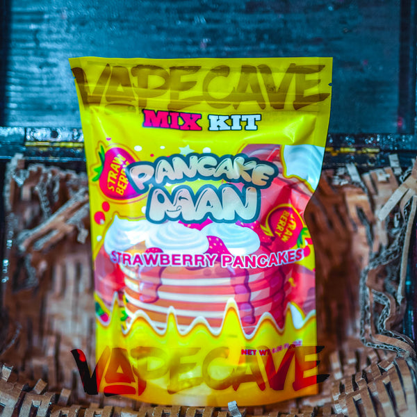 Pancake Man | 180ml Mix Kit<br> | by Vape Breakfast Classic - Wholesale Vape Supply | E-Liquids | Mods | Electronic Cigarettes Drip Cave®