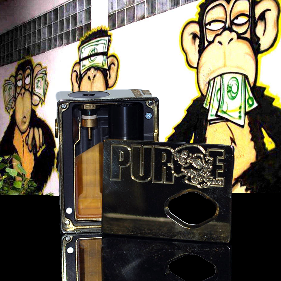"Purge Squonk Box ""Suicide<br>  King"" Edition  