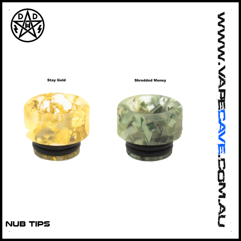 Nub Tips | <br> by Double Helix Designs | Drip Tip | VapeCave | Australia