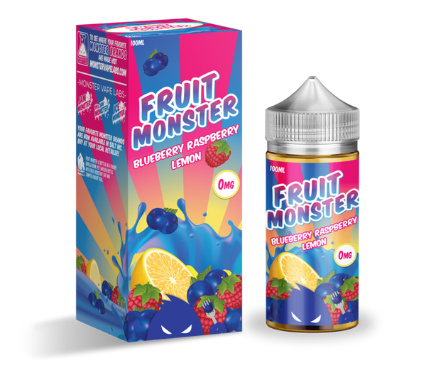 Blueberry Raspberry Lemon | <br> by Fruit Monster - Wholesale Vape Supply | E-Liquids | Mods | Electronic Cigarettes Drip Cave®