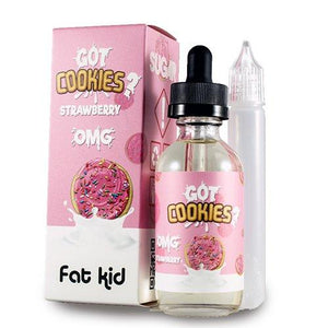 Buy Got Cookies Strawberry |<br>by Fat Kids e-liquid - Loaded - Vape Shop Melbourne Australia's Premier Shopping Destination Vape Cave