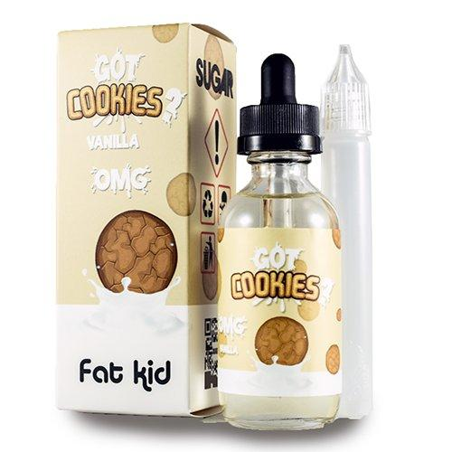 Got Cookies Vanilla  |<br>by Fat Kids e-liquid
