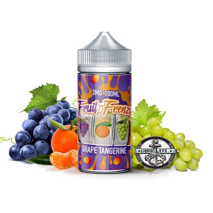 Fruit Frenzy Grape Tangerine |<br> by Liquid EFX Vape