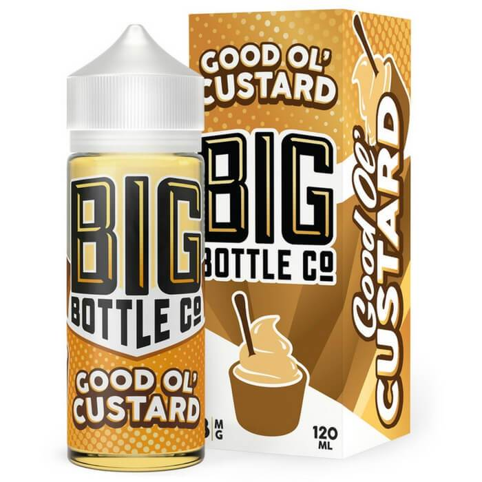 Good Ol' Custard by |<br>  Big Bottle Co. eJuice | e-liquid | VapeCave | Australia