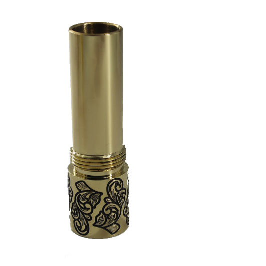 Brass Male Tubes (filigree) | <br> by Purge | mech mod | VapeCave | Australia