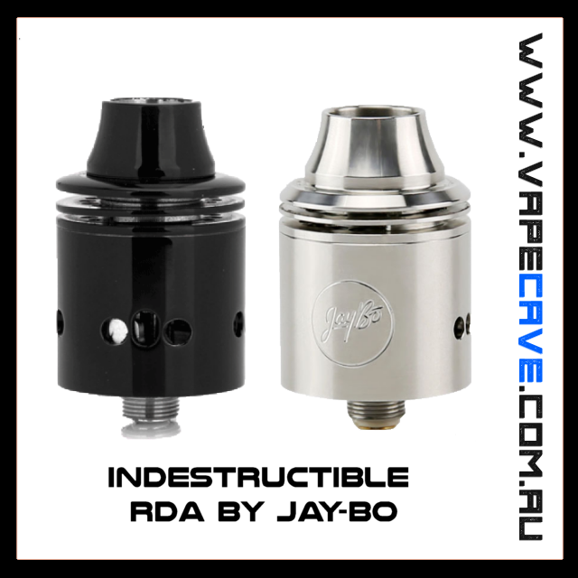 Indestructible RDA  <br>by Jaybo Design & Wismec | RDA | VapeCave | Australia