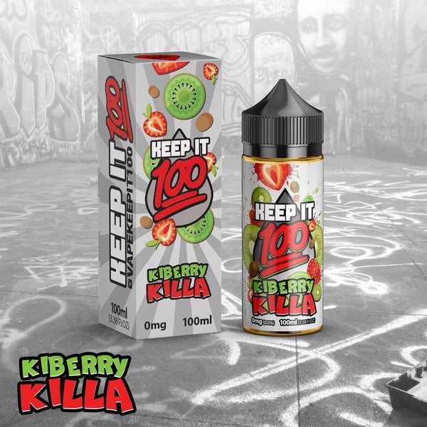 Kiberry Killa <br> | by Keep It 100 eJuice - VapeCave.com.au Australia | Australia's Premier Vape Shop Destination