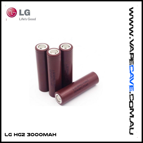 LG HG2 3000mAh 18650 Rechargable batteries (1 battery)