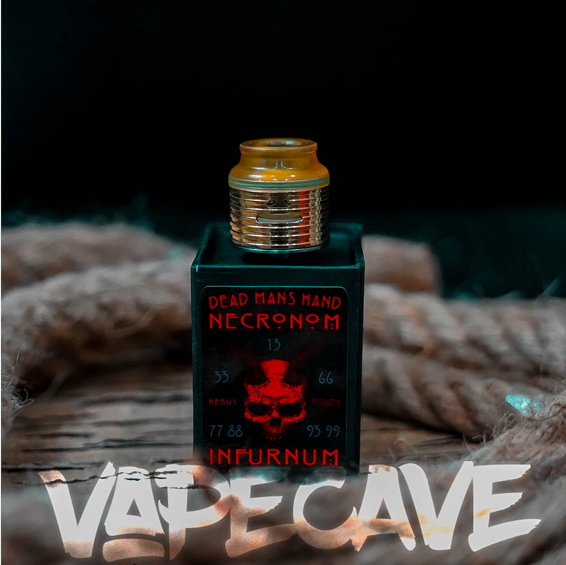 Necronom V2 30mm RDA | <br> by DMHE