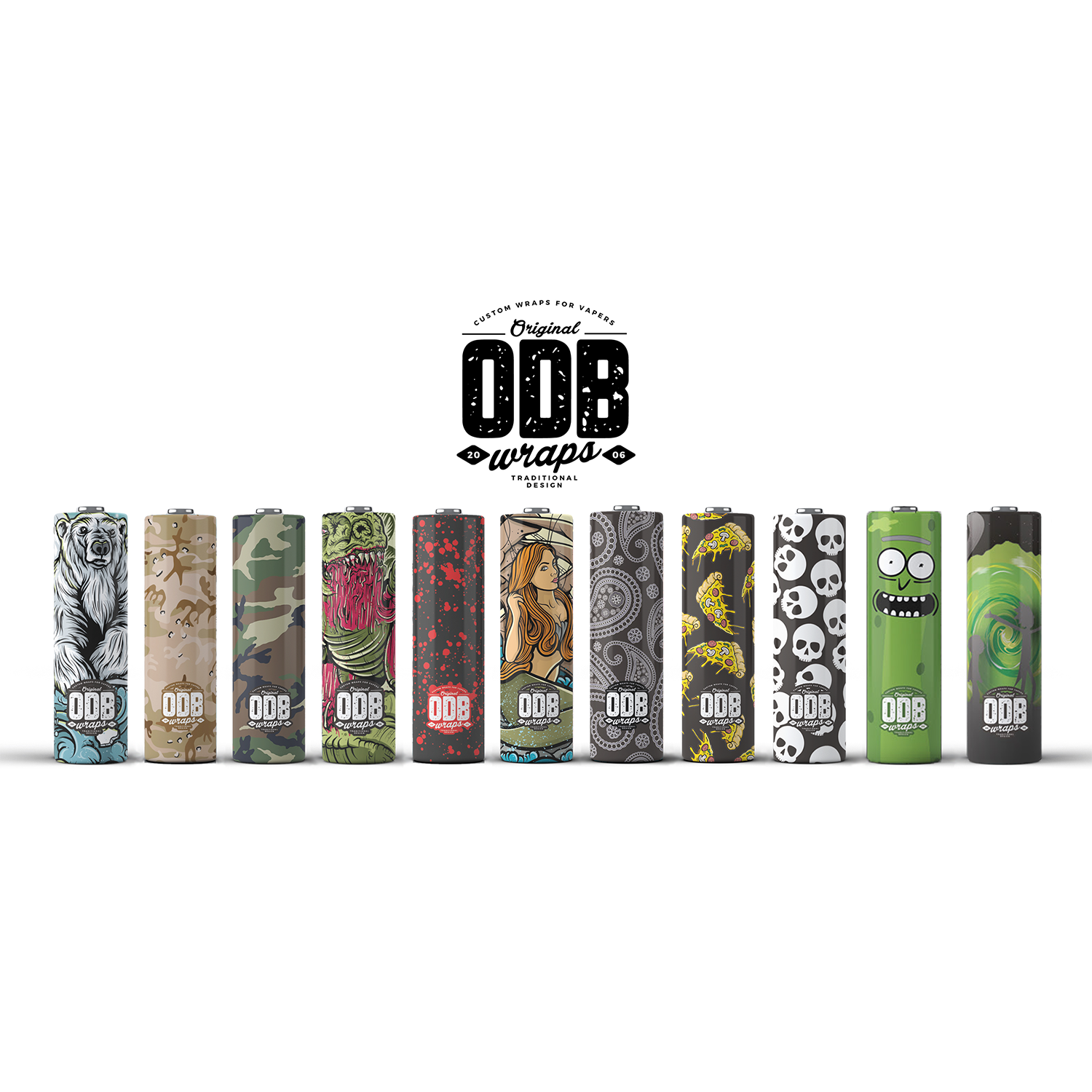 BATTERY WRAPS | <br> for 18650 by ODB