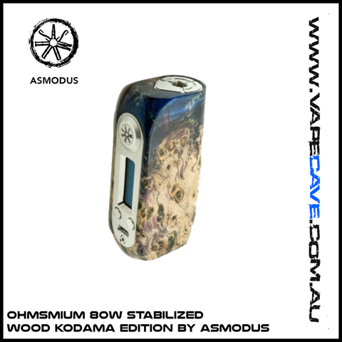 Ohmsmium 80W Stabilized Wood | Kodama Edition by asMODus