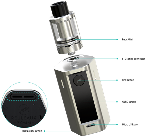 Reuleaux RXmini Kit | <br> by Jaybo Design & Wismec