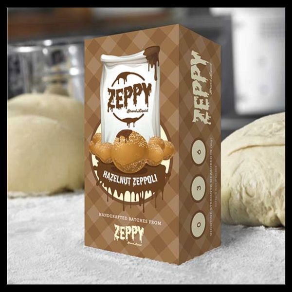 Hazelnut Zeppole | <br> Vape Zeppy - Wholesale Vape Supply | E-Liquids | Mods | Electronic Cigarettes Drip Cave®