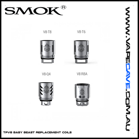 TFV8 Baby/Big Baby | <br> Replacement Coils