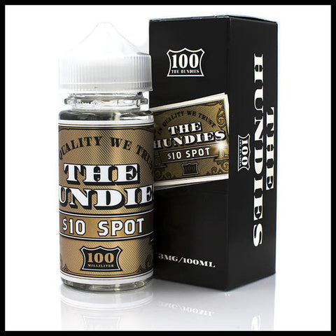 10 Spot E-Liquid | <br> THE HUNDIES