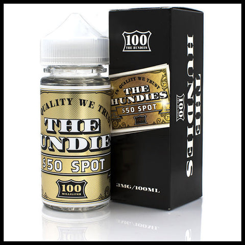 50 Spot E-Liquid | <br> THE HUNDIES