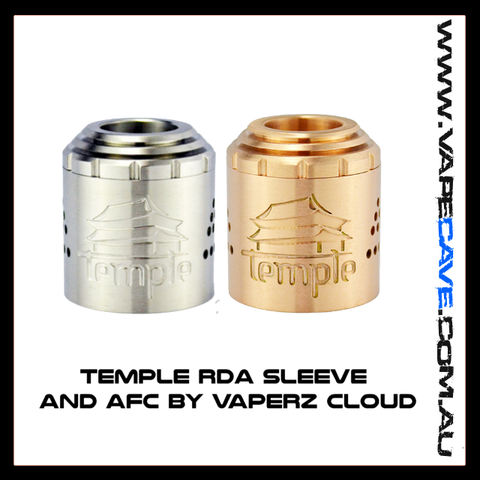 Temple RDA Sleeve and AFC<br> by Vaperz Cloud
