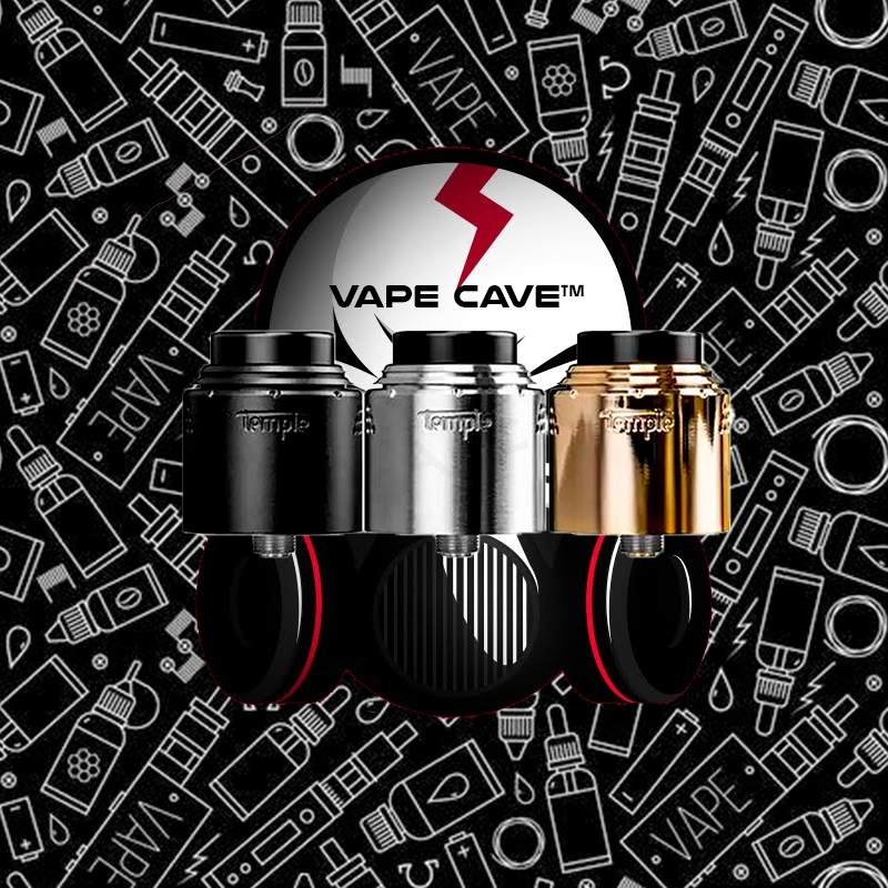 Temple 25mm RDA | <br> by Vaperz Cloud LLC