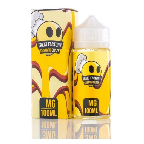 Custard Craze |<br> by Treat Factory | e-liquid | VapeCave | Australia