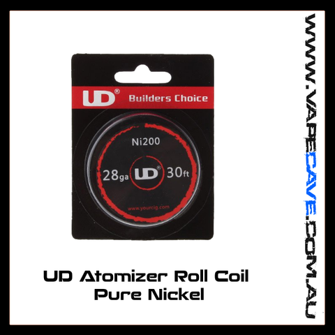 UD Atomizer Roll Coil <br>Pure Nickel