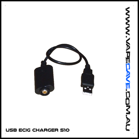 USB ECig Charger 510 <br>Most EGO Batteries