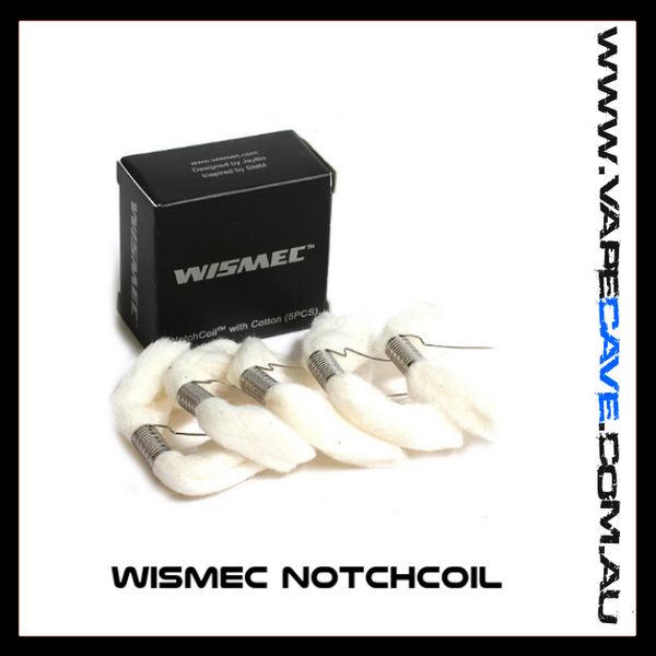WISMEC NotchCoil |<br> 5pack