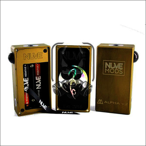 Alpha | <br> by NuveMods | Mechanical series mod | VapeCave | Australia