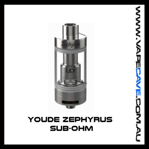 Youde Zephyrus Sub-ohm Rebuidable Tank Atomizer - 5ml -